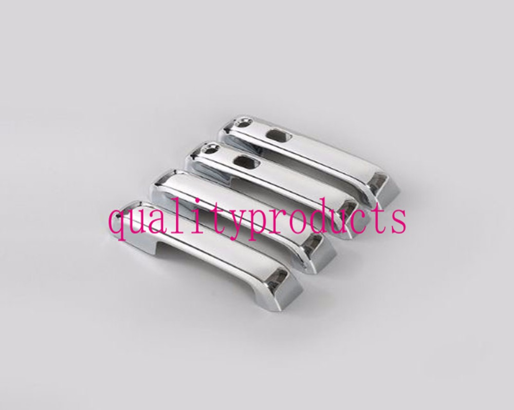 New chrome plated 4 door handle cover for 2015 2016 ford f150 truck triple china