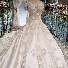 Wedding Dress Ball Gown Short Sleeves Dress 2018