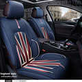 Special Leather Car seat covers for Landrover Range Rover Freelander discovery evoque Car Seat Cover Front&Rear complete seat