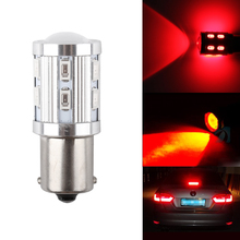 S& D 1156 BA15S яркий 360 градусов светодиодный лампы p21w R5W светильник r10w светодиодный чипы автомобильный тормоз задний свет, обратный сигнал резервные лампы красный