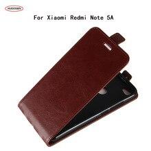 HUDOSSEN чехол для телефона для Xiaomi Redmi Примечание 5A Prime Чехол кошелек кожаный флип задняя Сумка чехол для Xiaomi Redmi Примечание 5A чехол