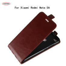 HUDOSSEN Phone Case For Xiaomi Redmi Note 5A Prime Case Wallet Leather Flip Back Bag Cover For Xiaomi Redmi Note 5A Case Cover