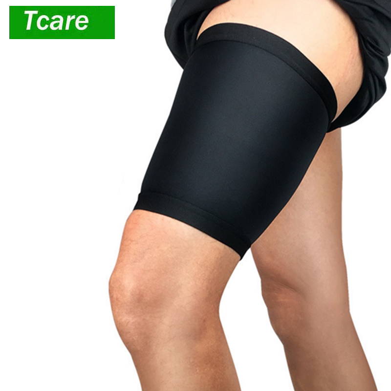 1Pcs Thigh Wrap Hamstring Brace Support Compression Sleeve For Pulled Hamstring Strain Injury Tendonitis Rehab And Recovery