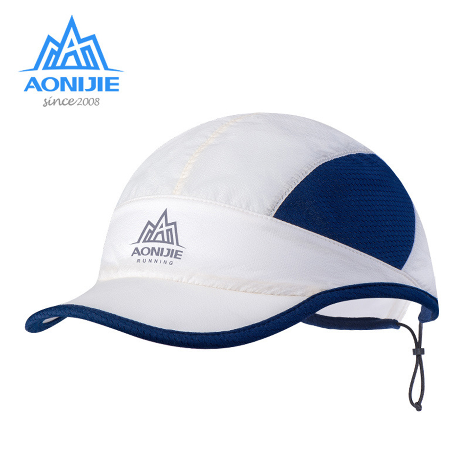 038d32eaef484 AONIJIE Lightweight Summer Sun Visor Cap Hat Sports Beach Golf Fishing  Marathon with Adjustable Drawcord Anti
