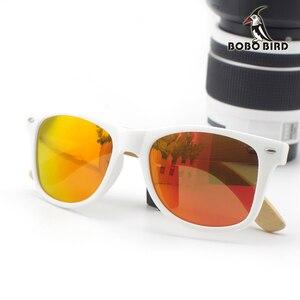 Image 5 - BOBO ptak Handmade okulary kobiety 2020 nowych moda bambusa nogi okulary kolorowe soczewki polaryzacyjne óculos de sol feminino
