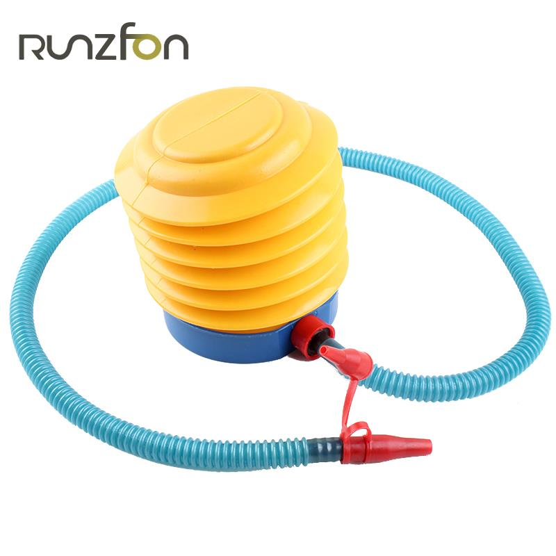 Balloon Pump Foot Air Pump For Kid Swimming Pool Portable Inflate Equipment Foot Air Inflator Home Use Wedding Party Laborsaving