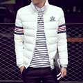 Men' Korean Style Fashion Male Casual Jacket Slim Fit Solid Big Size M-5XL Coat men Male youth fashion clothes