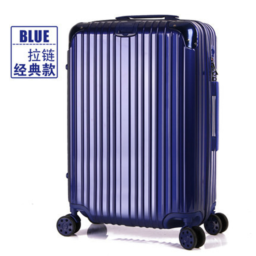 Pull rod box universal wheel suitcases; male and female luggage suitcase son boarding lockbox 20 22 24inches