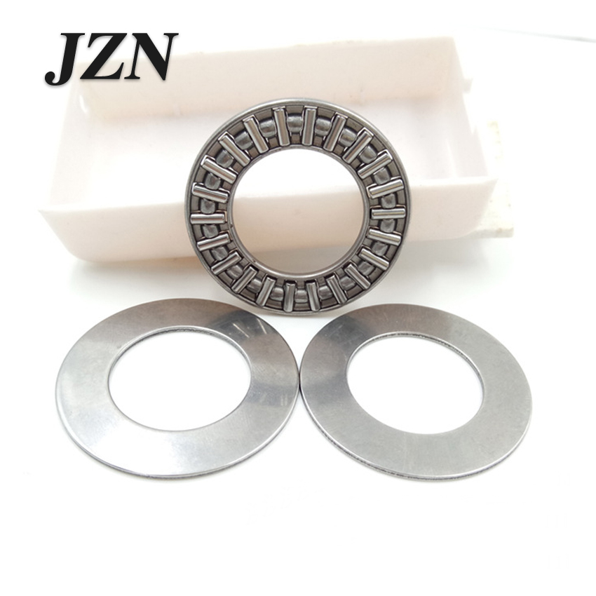 4Pcs Plane Thrust Needle Roller Bearing AXK1730+2AS AXK2035+2AS AXK2542+2AS AXK3047+2AS AXK3552+2AS AXK4060+2AS