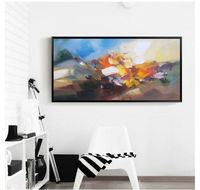 100% Hand painted oil painting canvas Modern Wall art home decor Picture abstract oil painting Ornaments CX328-2