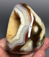 340g Agate Geode ! HOT SALE NATURAL CARNELIAN CRYSTAL QUARTZ Healing Agate geode crystal stone