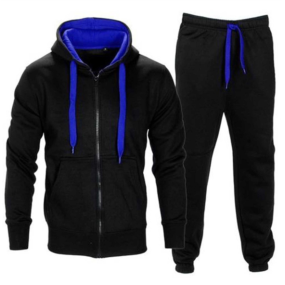New Autumn Tracksuits Men Set Hooded Hoodies + Pants Suit Spring Sweatshirt Sportswear Set Male Hoodie Sporting Suits 2Pcs