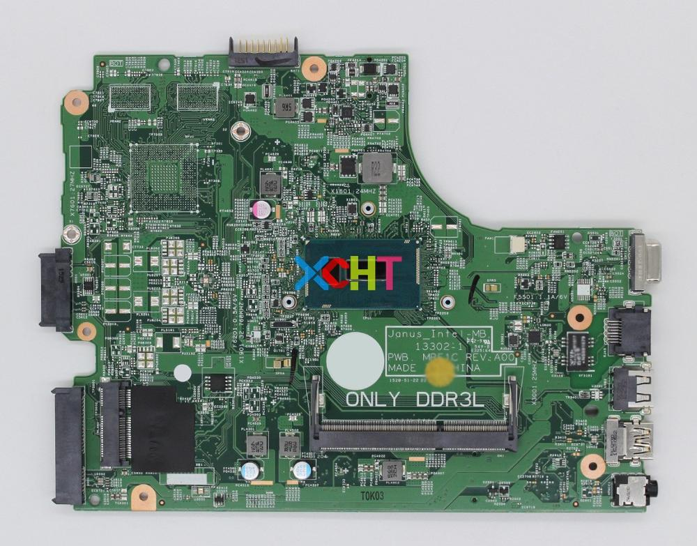 for Dell Vostro 15 3549 V3549 NXCCW CN 0NXCCW Cel 3205U 13302 1 PWB: MRF1C Laptop Motherboard Mainboard Tested-in Laptop Motherboard from Computer & Office