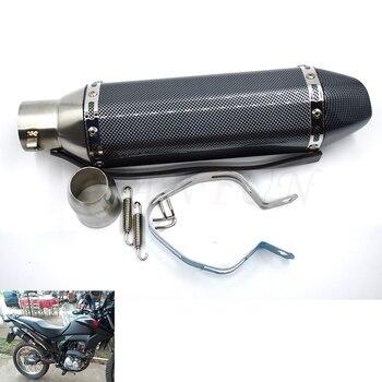 Universal 36-51mm Motorcycle Exhaust Pipe Muffler Scooter Escape Moto For Yamaha FZ6 FAZER FZ6R FZ8 FZ1 FAZER XJ6 MT-07 FZ-07