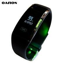 Oasion Смарт Браслет артериального давления Часы Браслет фитнес-трекер пульсометр фитнес-часы Водонепроницаемый Смарт браслет