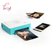 Outdoor Portable Mini Photo Printer Wireless Bluetooth printers Support Android iOS Smartphone Color Printing