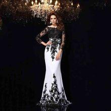 smileven Black Lace Mermaid Wedding Dress Long Sleeves Vestidos de novia 2019 Lace Appliques Bridal Dress Sexy Wedding Gowns татуировка переводная heartbeat