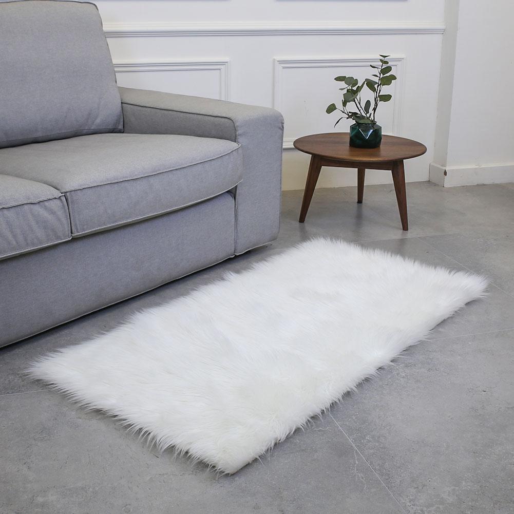 Rectangle 180X100cm tapis moelleux laine tapis sol décoration chambre salon multicolore canapé chaise tapis maison