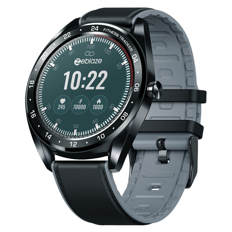 Zeblaze Neo Ip67 Waterproof 1.3 inch Ips Color Press Display Heart Rate Monitor All-Day Tracking Sports Smartwatch Neo