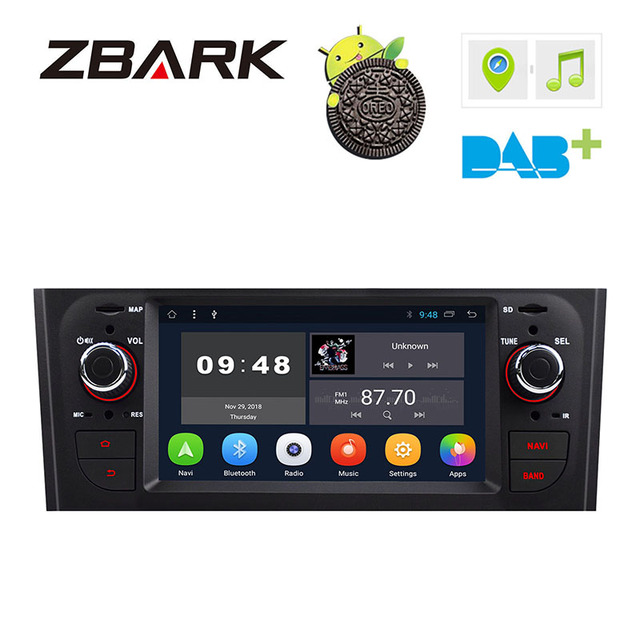 6.1 inch HD Digital  Car Stereo GPS Android 8.1 for FIAT Grande Punto 199/310 2005-2009 Linea 323 2007-2011 YHTPD3L