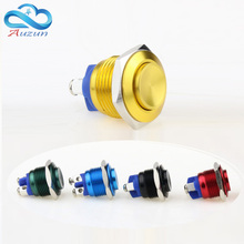 16 mm high  metal button switch reset button switch instantly alumina red green yellow blue black 3 a / 250 VDC