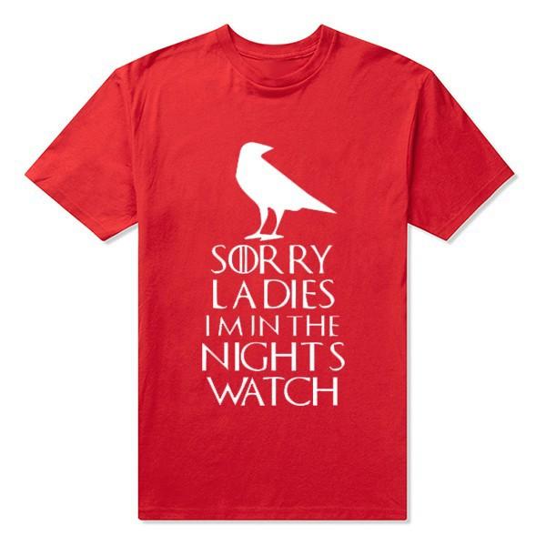 Round Neck Night's Watch Men T Shirts