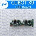 Cubot x9 placa usb 100% nueva original del usb bordo para cubot x9 teléfono accesorios de reparación envío libre-en stock