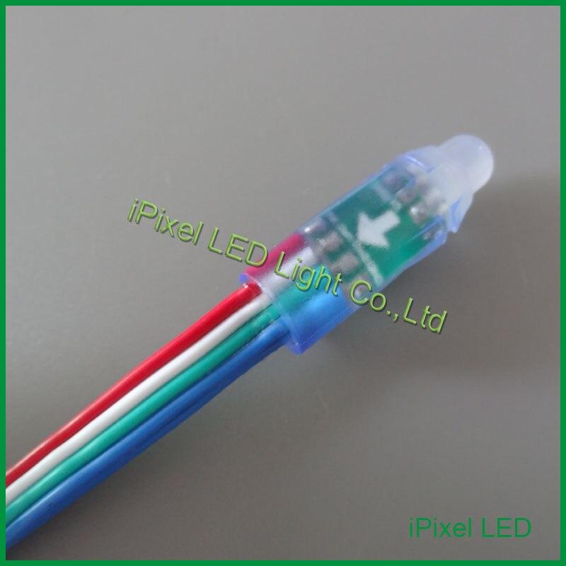 Оптовая цена 12 мм RGB LED Pixel Водонепроницаемый для вывеска свет письма