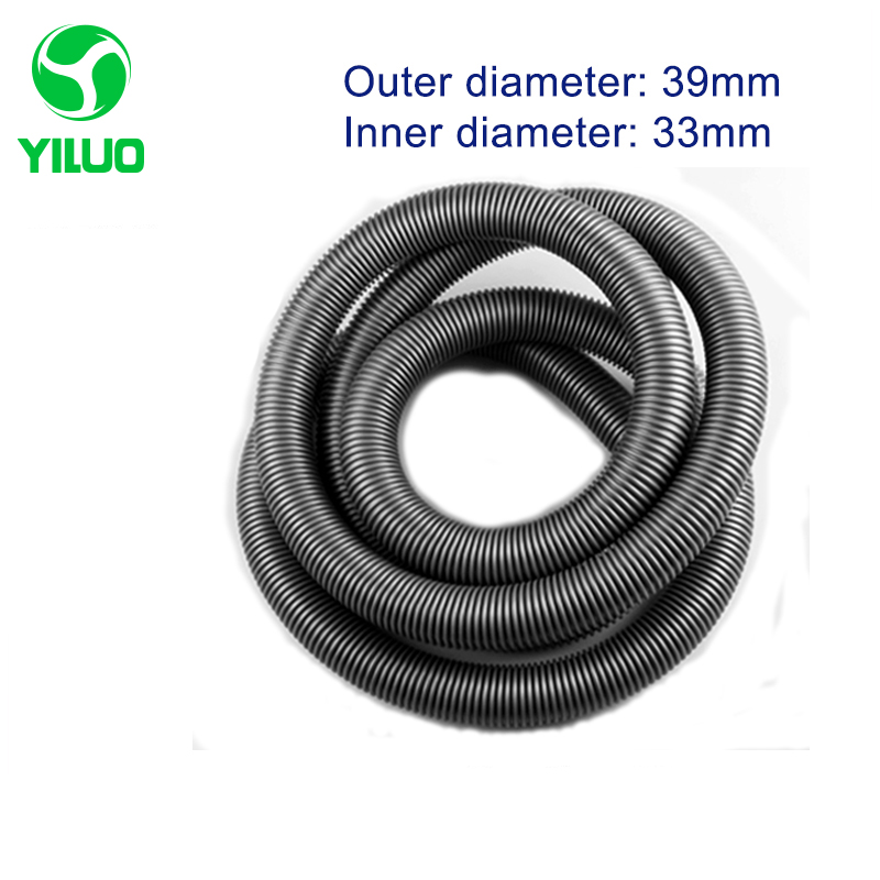 1m Outer Diameter 39mm gray High Temperature Flexible EVA Hose With Good Quality For Accessories Of Vacuum Cleaner vacuum pump inlet filters f007 7 rc3 out diameter of 340mm high is 360mm