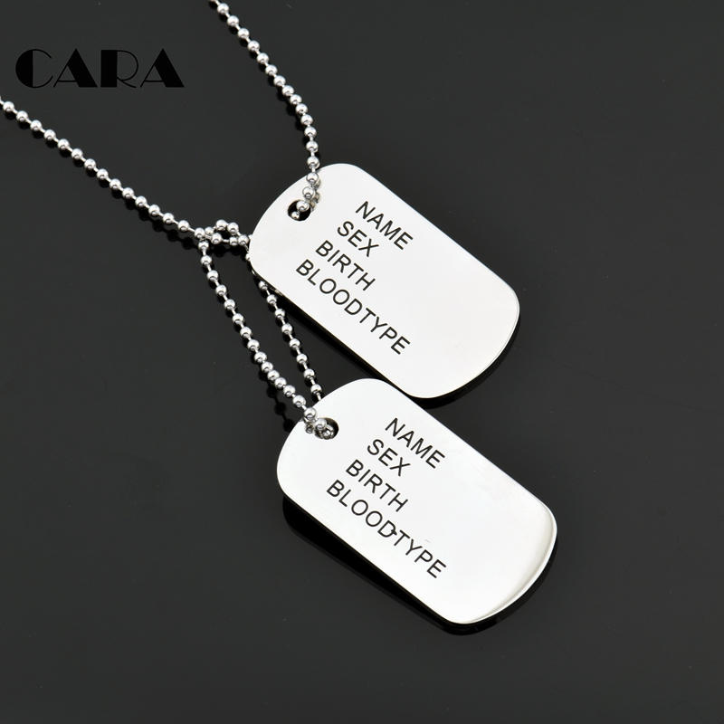 chain s tone black mens military bead w silver pendant tag necklace scorpion products dog men