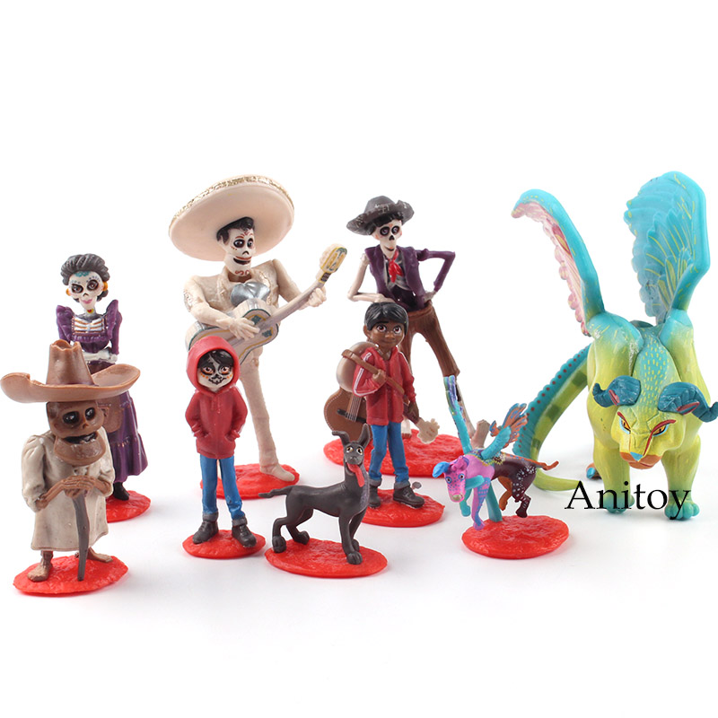 Cartoon Anime COCO Miguel Characters Figures PVC Action