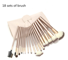CREEZE Makeup Brush 12/18pcs Classic Soft Synthetic Professional Cosmetic Makeup Foundation Powder Blush Eyeliner Brushes