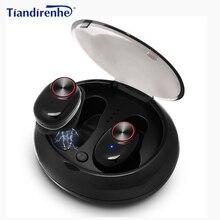 Mini BTH-V5 TWS Bluetooth v4.2 Headphone Headset Wireless Ea