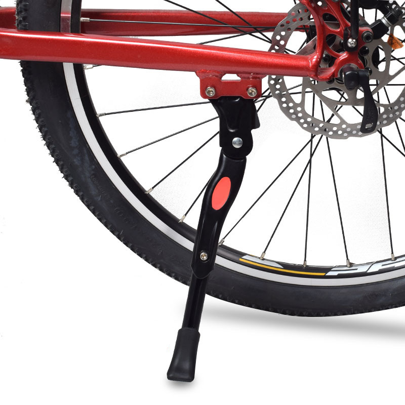 Adjustable Bicycle MTB Road Kickstand Parking Rack Support Side Kick Stand Foot