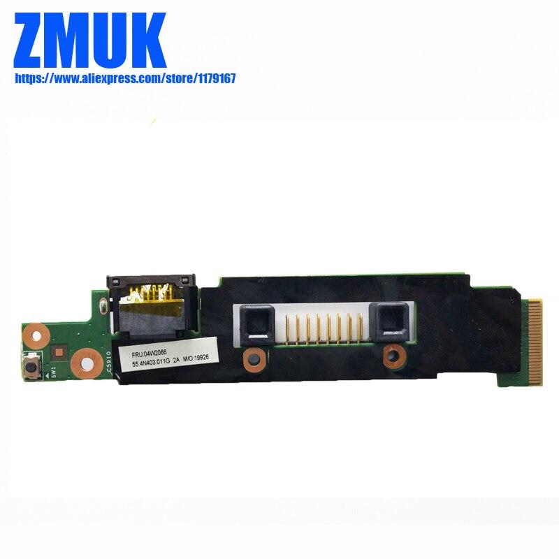 RJ45 Subcard For Lenovo Thinkpad X1 Hybrid Series,P/N 04W2066 коммутатор lenovo rackswitch g7052 48x1gbase t rj 45 7159cax