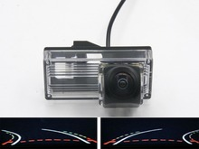 цена на Trajectory Tracks 1080P Fisheye Lens Car Rear view Camera for Toyota land Cruiser 200 LC200 2000 -2014 Toyota Reiz 2008 2009