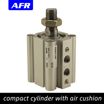 SMC Type Compact cylinder with air cushion Bore size 20 25mm stroke15-50mm RQB20-15 built-in magent RQA25-20 RDQB20-25 RDQA25-30 smc type air cylinder cqmb cdqmb bore 25mm compact rod guide pneumatic cylinder components stroke 5 10 15 20 25 30 35 40 45 50m