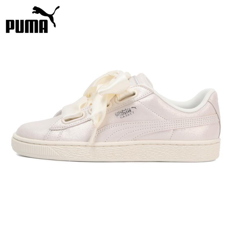 Original New Arrival PUMA Basket Heart NS Wn's Women's Skateboarding Shoes Sneakers
