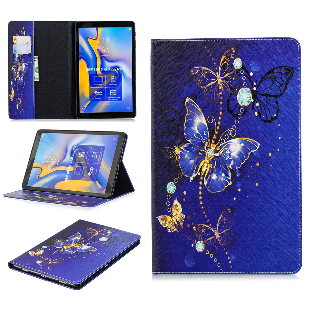 High Quality Fashion Painting Book Cover Case For Samsung Galaxy Tab S4 10.5 T830 T835 Tablet Protective Shell