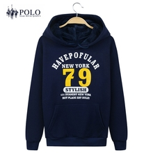 Royal Queen's Polo Team Brand 2017 new men women velvet thickening Hooded Hip Hop Hoodie Fashion Clothing Sweatshirts coat male