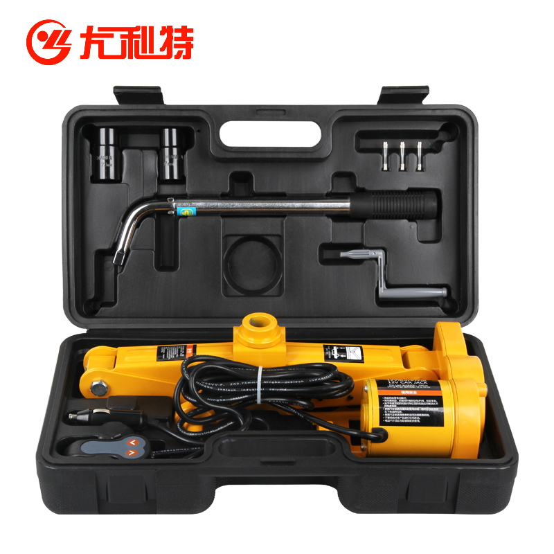 Car horizontal electric jack 12v electric tool sedan off