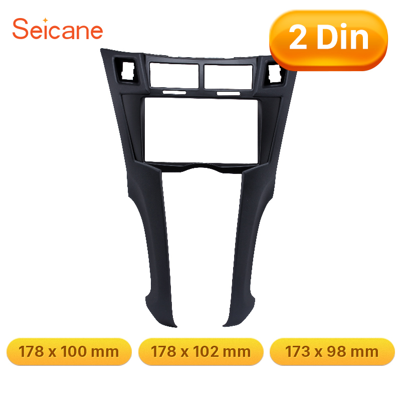 Seicane 173 98 mm Refitting Kits DVD Panel Stereo Frame Car Audio Fascia For 2005 2011