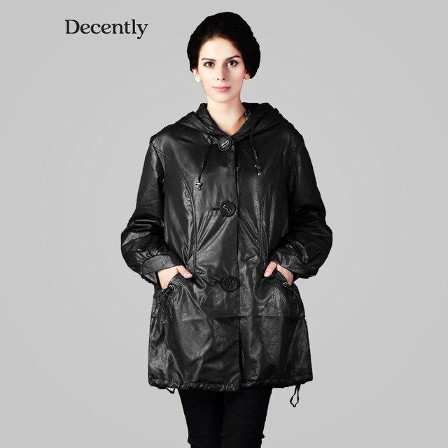 97cdc0992 Decentemente New cotton 2016 Inverno Mulher Jaqueta moda Outerwear 9288