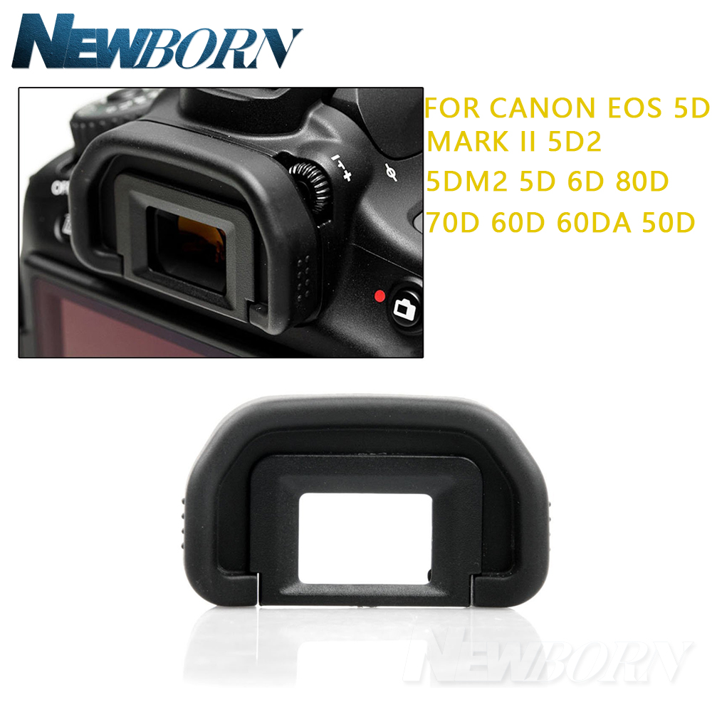 Rubber Eye Cup EB Viewfinder Eyecup for <font><b>Canon</b></font> EOS 10D 20D 30D 40D 50D 60D 70D <font><b>5D</b></font> <font><b>5D</b></font> Mark II 6D DSLR Camera <font><b>Accessories</b></font> image