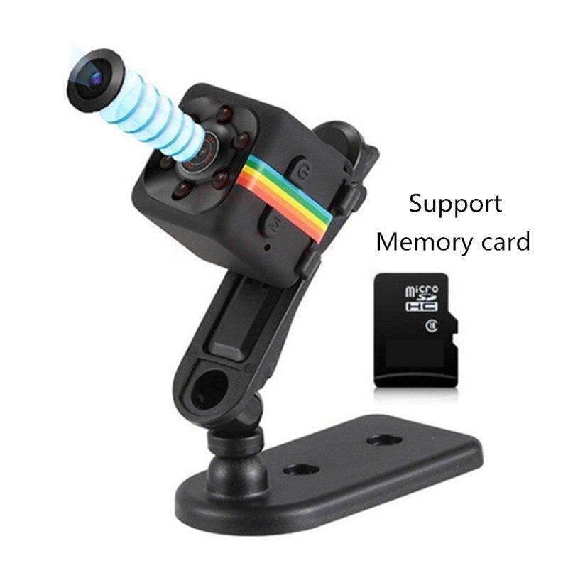 HD 1080P Mini Camera SQ11 Night Vision DVR Infrared Mini Camcorder Support TF Card DV Video voice Recorder Digital Micro Cameras