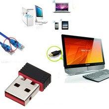 Mini PC wifi adapter 150 M antena Wi-fi USB Computador Placa de Rede Sem Fio 802.11n/g/b LAN + adaptadores de antena wi-fi wi fi antena