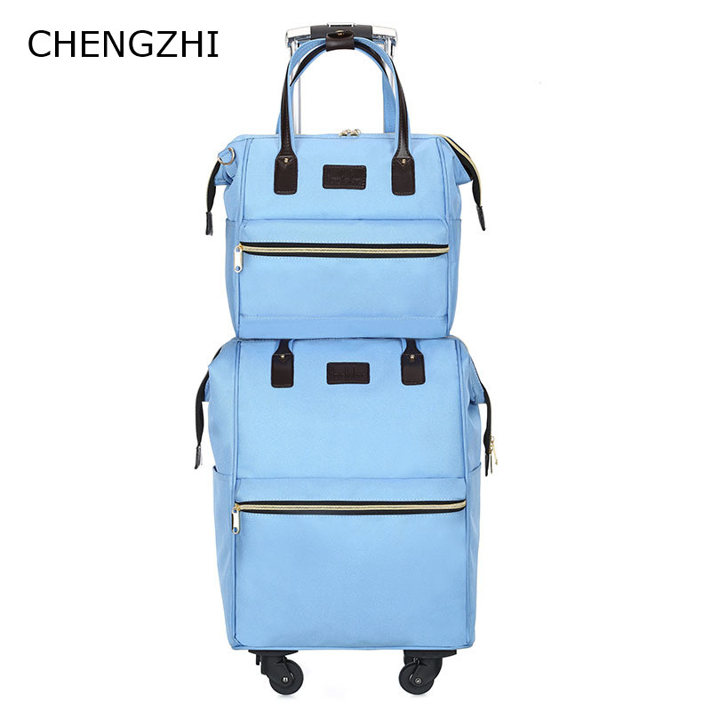 【Sinor】20 inch Waterproof Spinner Luggage Travel Business Large Capacity Suitcase Bag Rolling Wheel Black Color US Free Shipping - 5