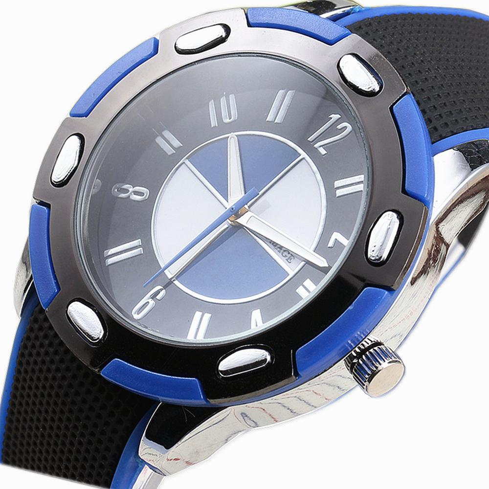 Top Brand Womage High Quality Sport Watches Tire Shape Case New Fashion Men Women Wristwatches Silicone Strap Retro Quartz Watch