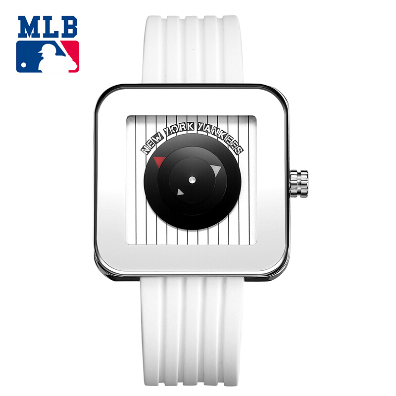 MLB NYseries fashion and casual watch oudoor watches rectangle stainless steel waterproof couple wristwatch NY003 недорго, оригинальная цена