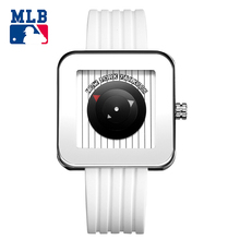 MLB NYseries fashion and casual watch oudoor  watches rectangle stainless steel waterproof couple wristwatch NY003